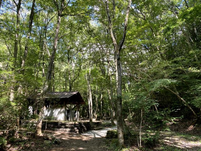 香川県キャンプ場、大滝山県民いこいの森