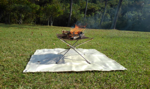 耐火、防炎、スパッタシート、焚き火台