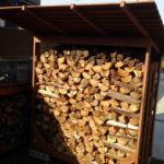薪棚、ログラック、DIY、自作